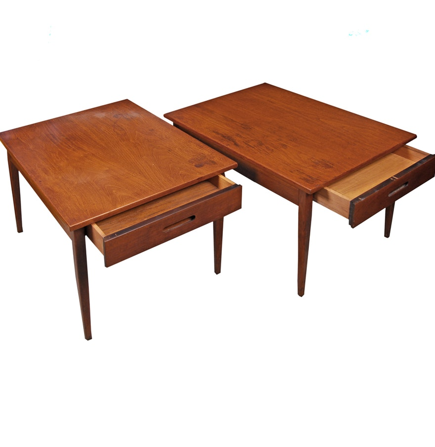 mid century accent table modern end wood antique tables ebth target telephone pier imports outdoor cushions tiffany shades sofa ideas furniture elegance high pub set pottery barn