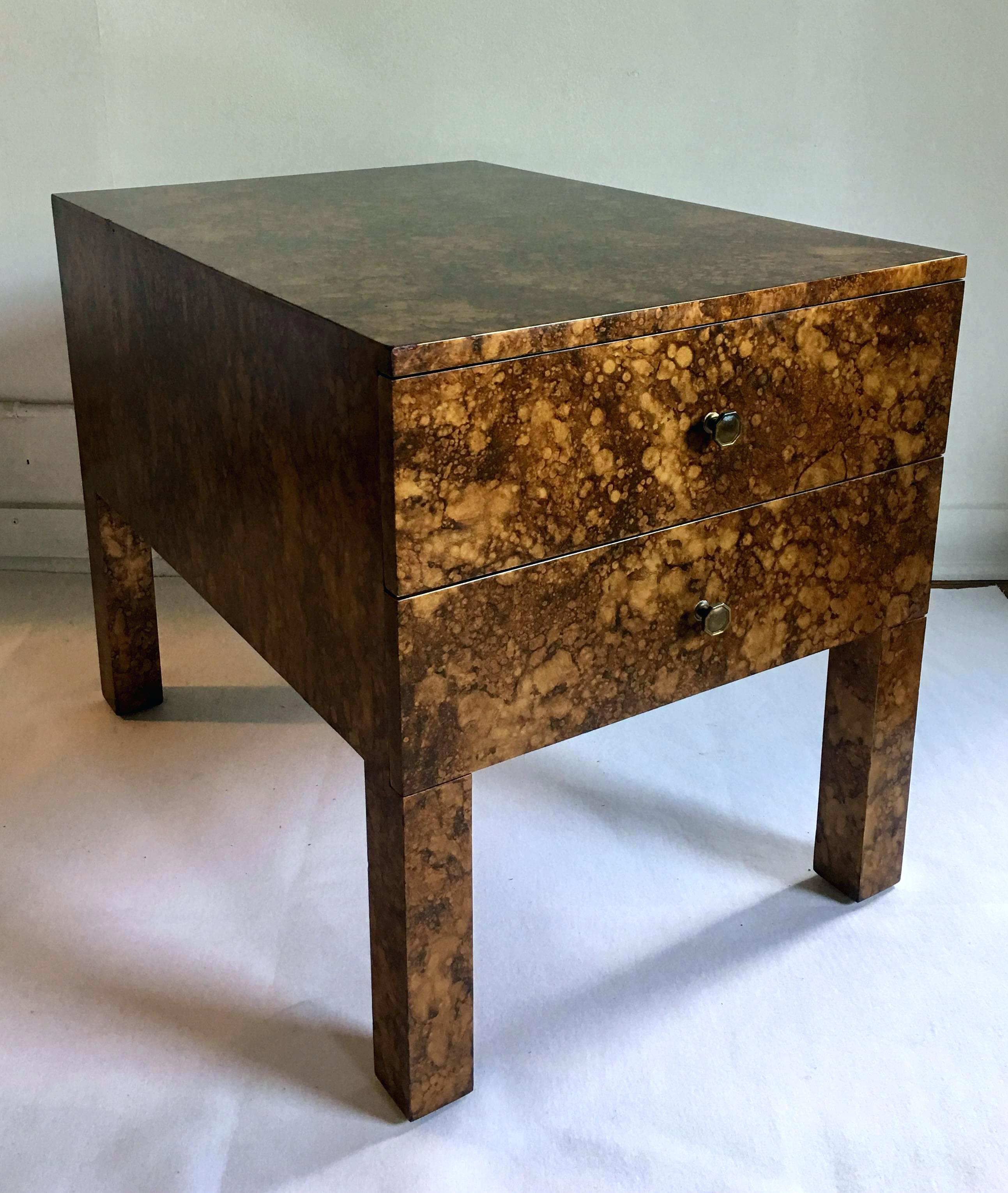 mid century accent table yorkvilleplaza modern parsons style side end this rectangular shaped two dining room narrow lamp short rustic farmhouse set bedroom nightstand lamps large