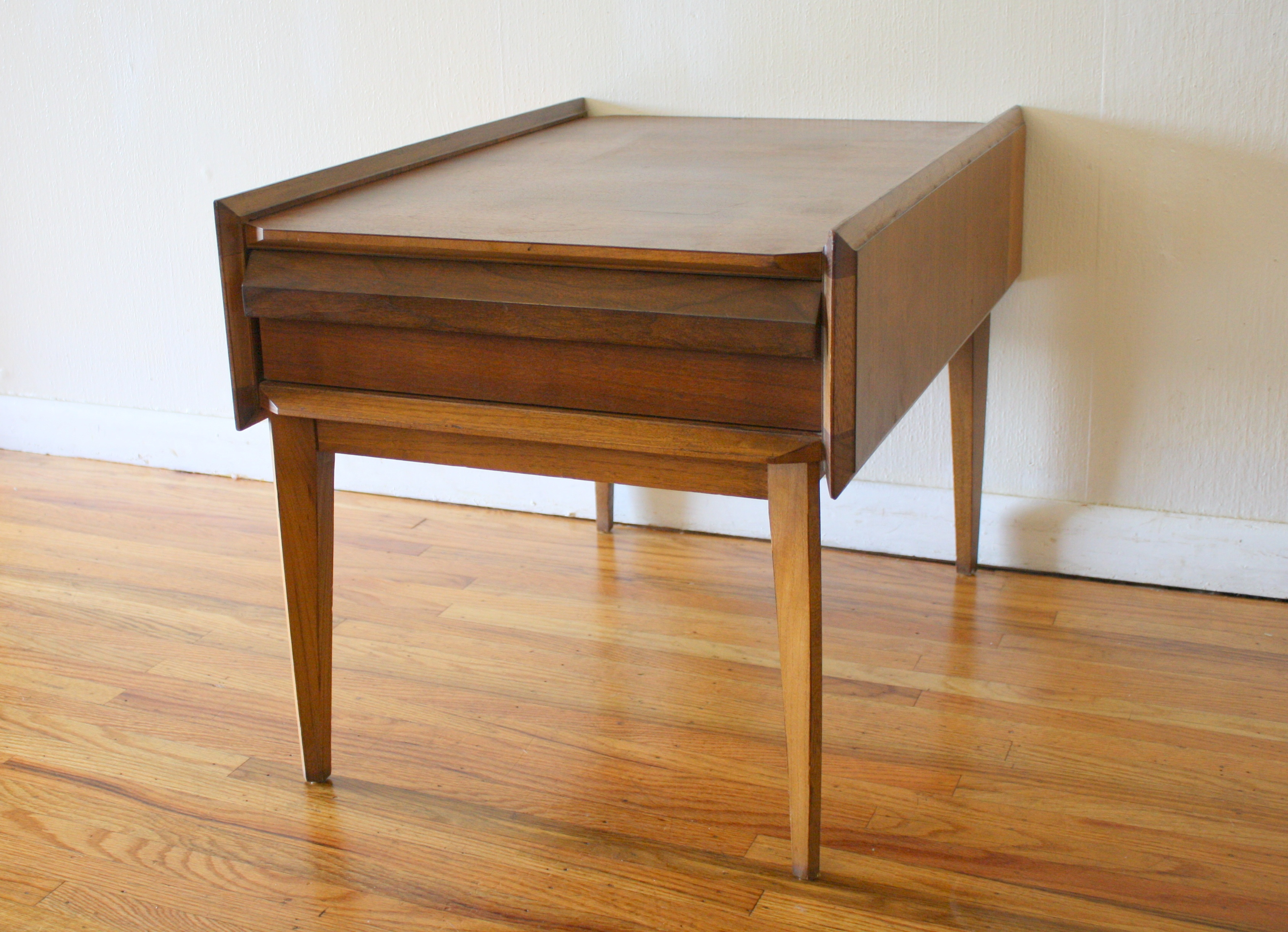 mid century modern accent table room essentials target home goods side end nightstands ked vintage hexagon leick corner computer and writing desk placemat set round wood coffee
