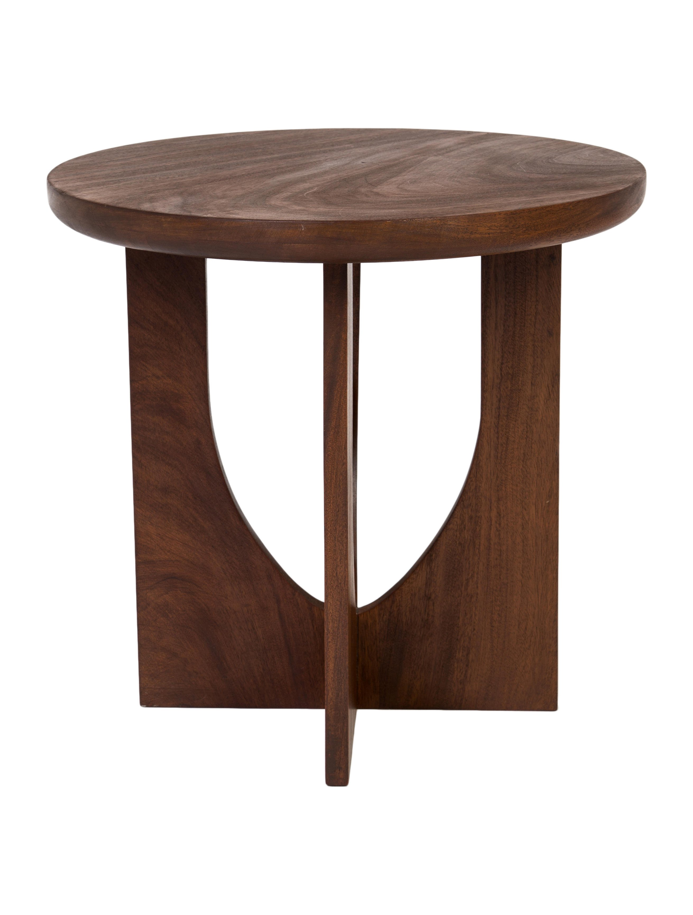 mid century modern end tables furniture ceramic accent table mosaic seater patio set shaped vita silvia round wood and iron coffee battery operated lights for living room green
