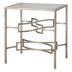 mid century modern open silver accent table iron metal glass top furn loading round folding dining mat set target desks and chairs leg nightstand diy coffee with side tables 150x150