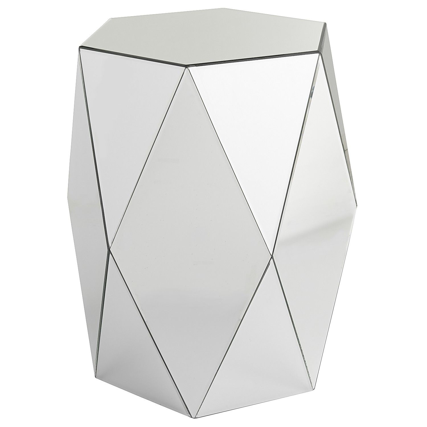 miera diamond mirrored drum accent table tables white outdoor metal ashley furniture set shelving concrete homeware decor barn door closet doors small triangle kartell chairs