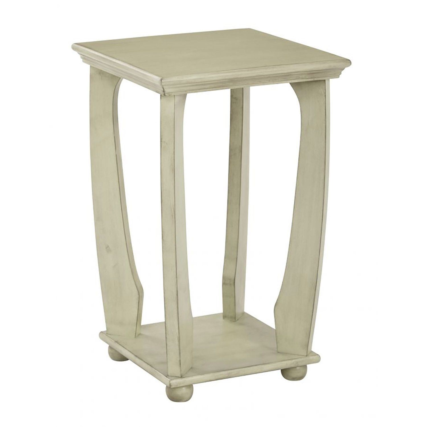 mila celadon square accent table office star afw squareuare antique dining room metal side tables for living traditional lamps furniture legs white set pottery barn teen floor