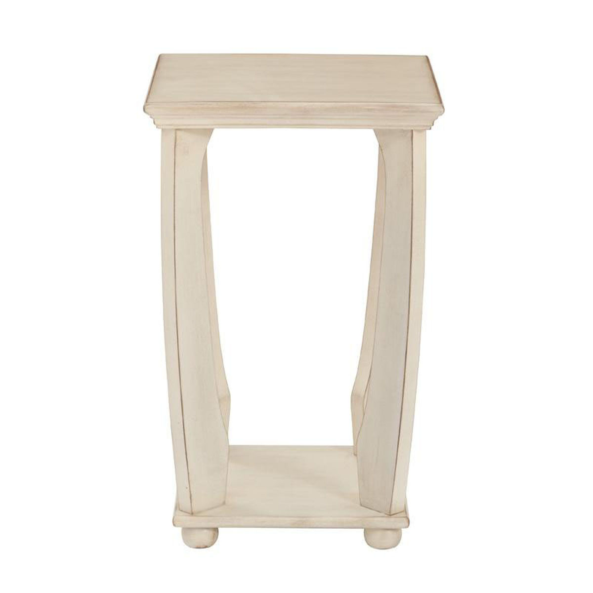 mila square accent table bizchair office star products our osp designs wood antique white now wrought iron replica furniture high end lighting coloured glass coffee side pair