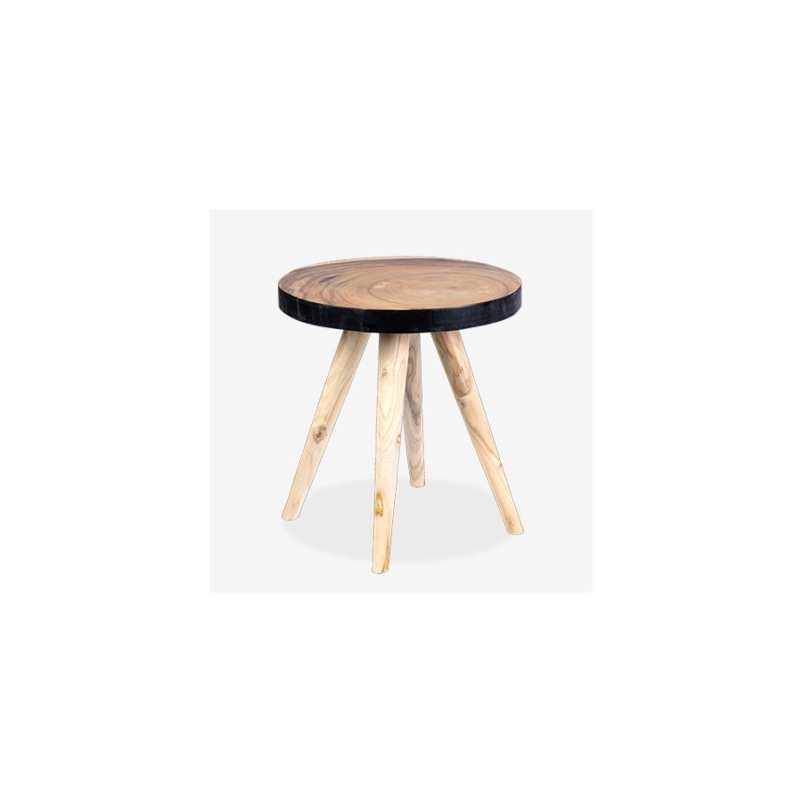 milan large round organic side table accent tables jeffan mini coffee modern patio mango wood unique outdoor furniture contemporary toronto build end cast iron two bulb lamp light