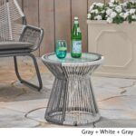 milan outdoor side table with glass top christopher knight home free shipping today nice design tea currey and company small wood nightstand coffee tables sofa patio chairs 150x150
