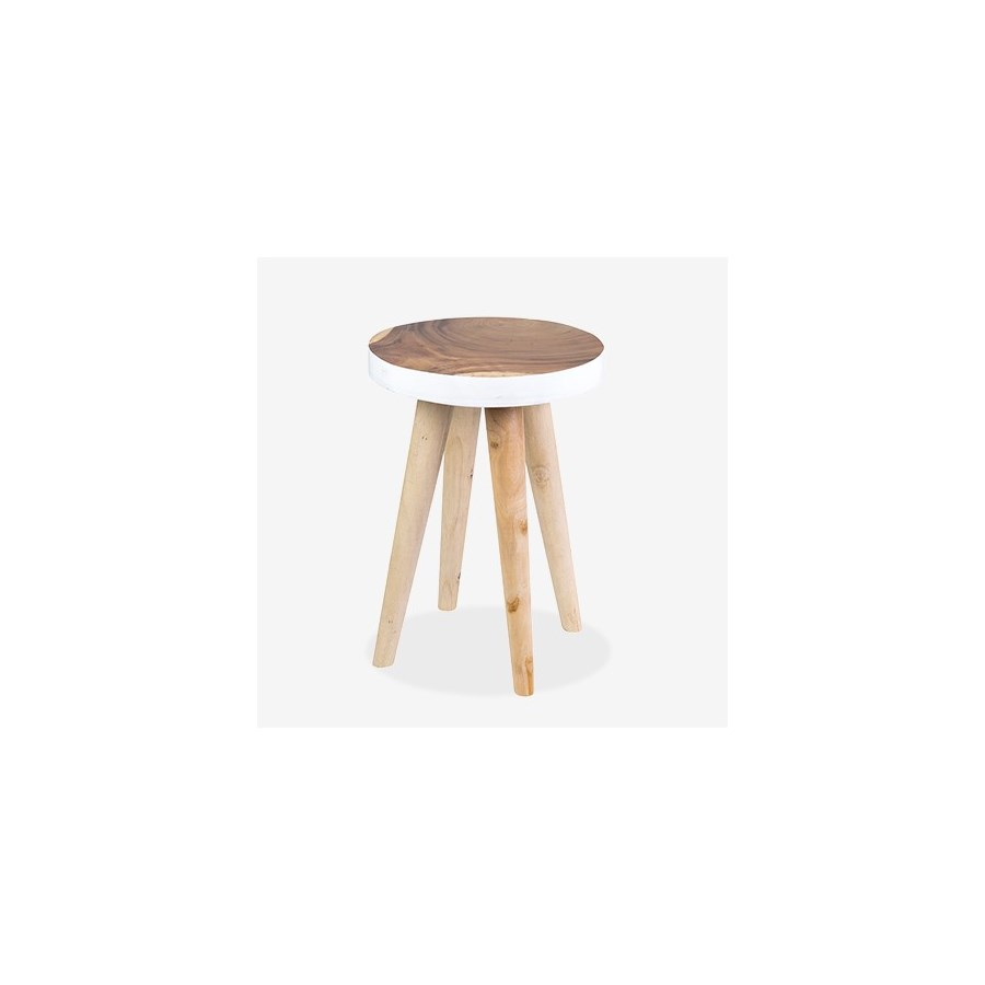 milan round organic side table accent tables jeffan narrow sofa behind couch knotty pine kitchen large outdoor umbrellas clearance small marble hallway console cabinet gold coffee