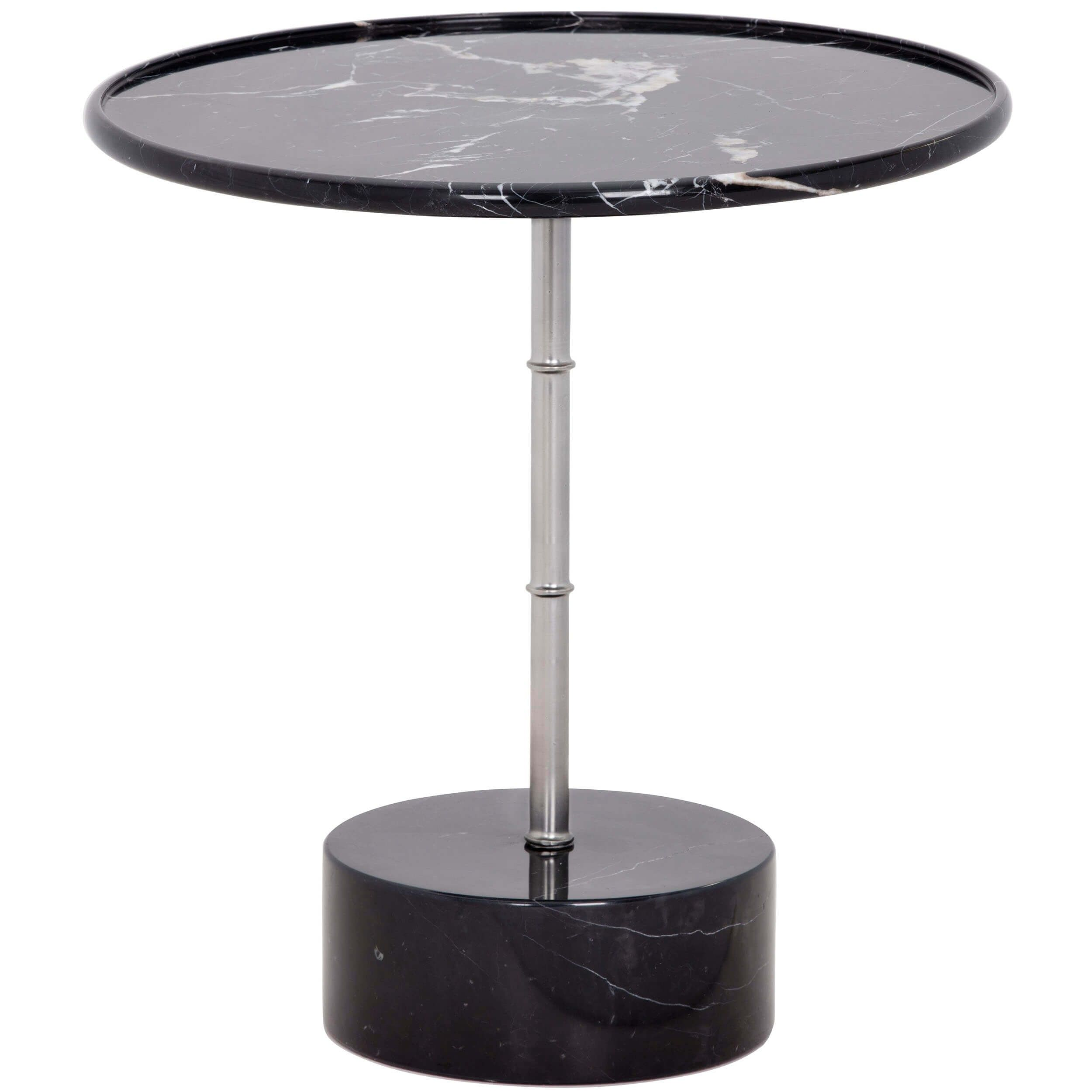milano side table black marble accent tables furniture perspex coffee nest narrow console with shelves target media cabinet round glass lamp kids bedside lacquer mirror frame