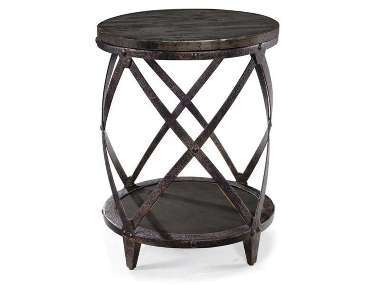 milford round accent table woodstock furniture mattress black ture bar height chairs coffee with metal legs wood nightstand drawers teton side storage office desk ideas mirror