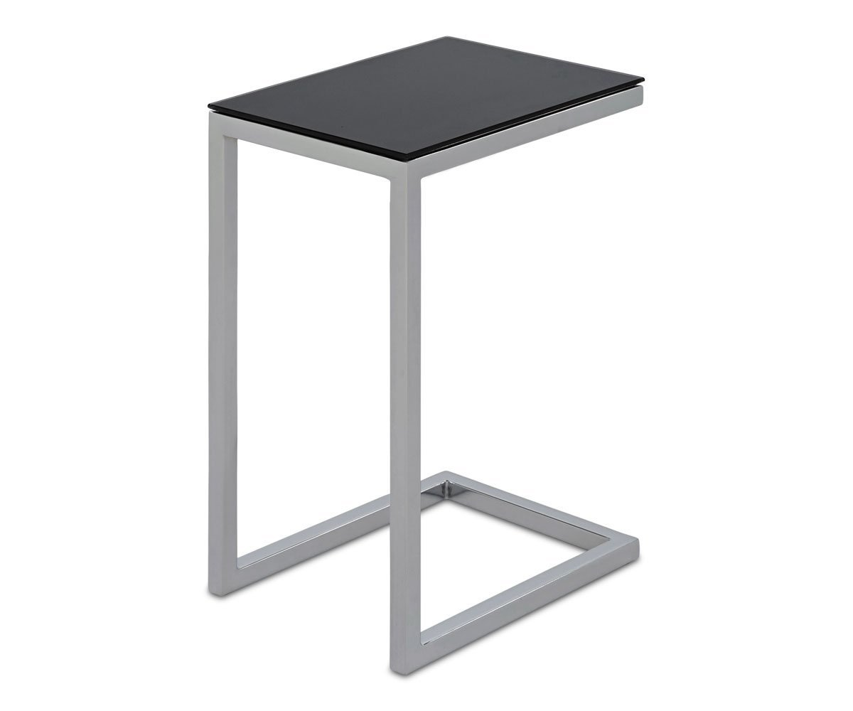 milla glass accent table scandinavian designs square marble dining room set coffee and side round drawer swedish reproduction furniture pedestal bedside metal legs decor ideas