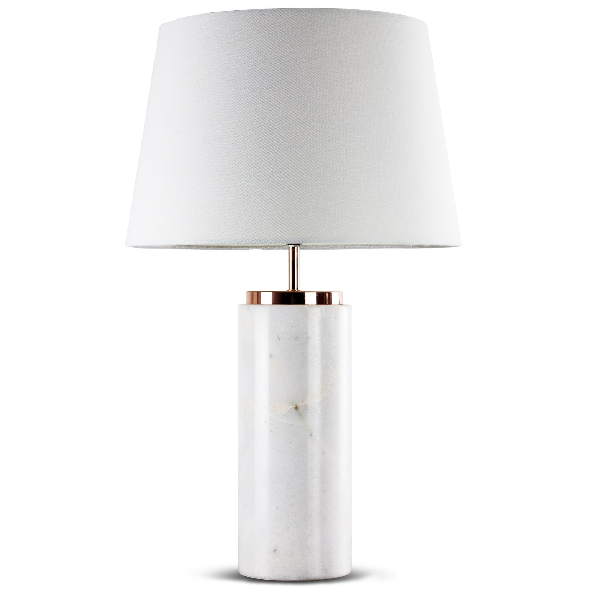millennium art modern marble inch table lamp free shipping stylish accent with white canvas shade lamps today thin cabinet small vintage tablette prix large cloth dining room