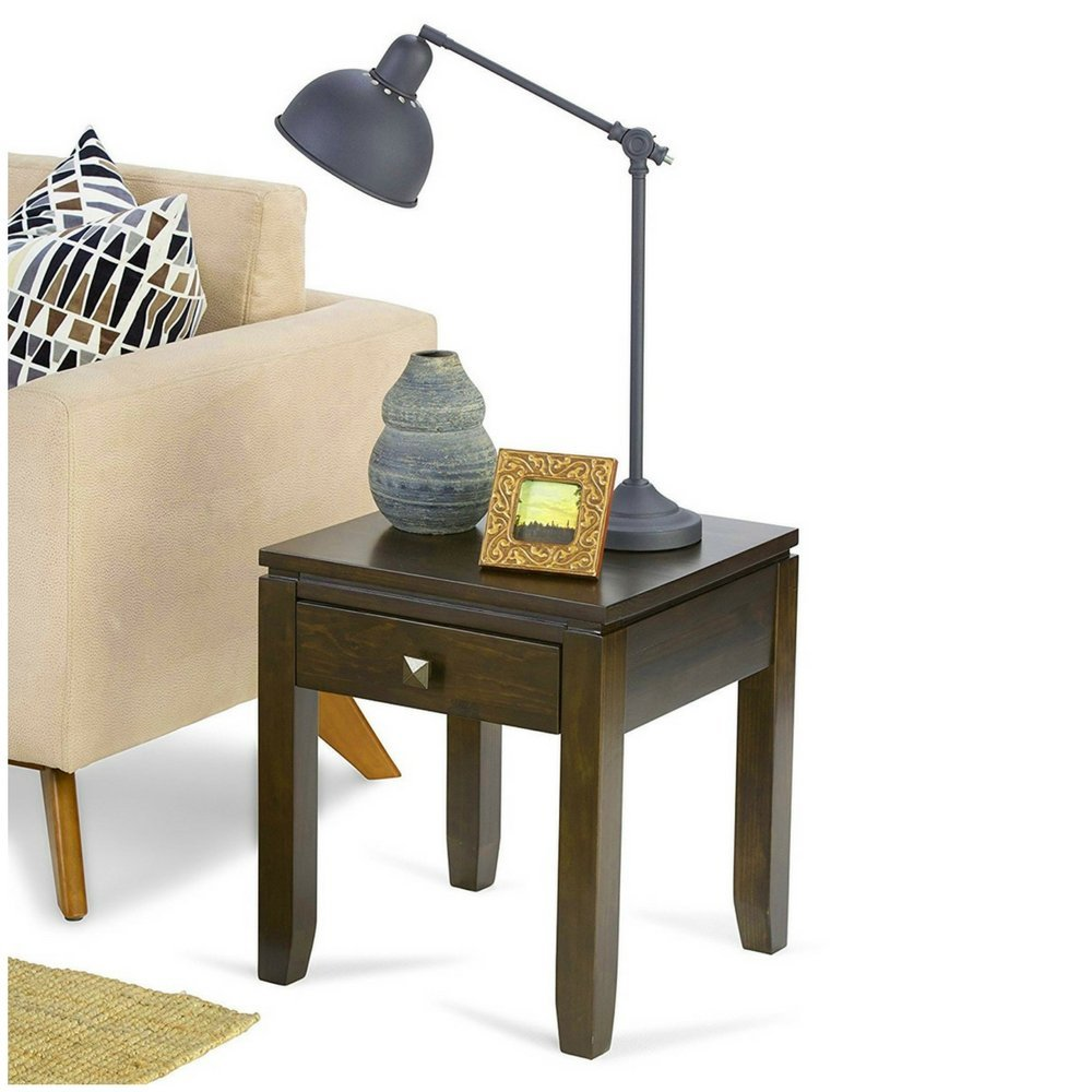 mini sofa design find accent table get quotations simplistic end with drawer side piece square furniture solid wood coffee breakfast set room essentials curtains house decoration