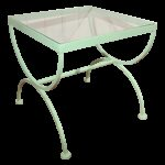 mint green iron glass accent table chairish and metal leick mission furniture legs coffee tables patio toronto clearance round wood end hampton bay solid corner inch high brown 150x150