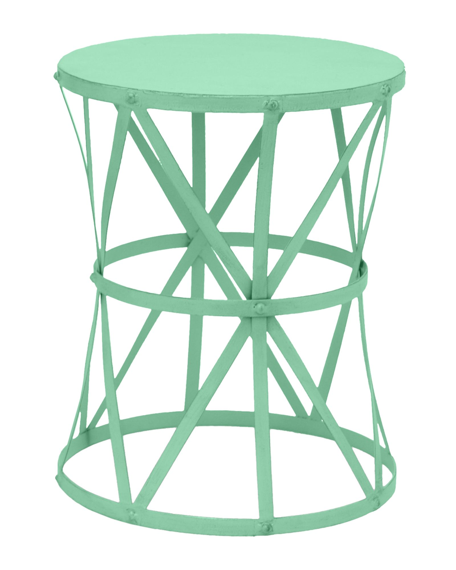 mint metal accent table home garden green famous designer patio furniture toronto clearance ikea box shelves espresso color coffee piece chair set ethan allen windsor chairs