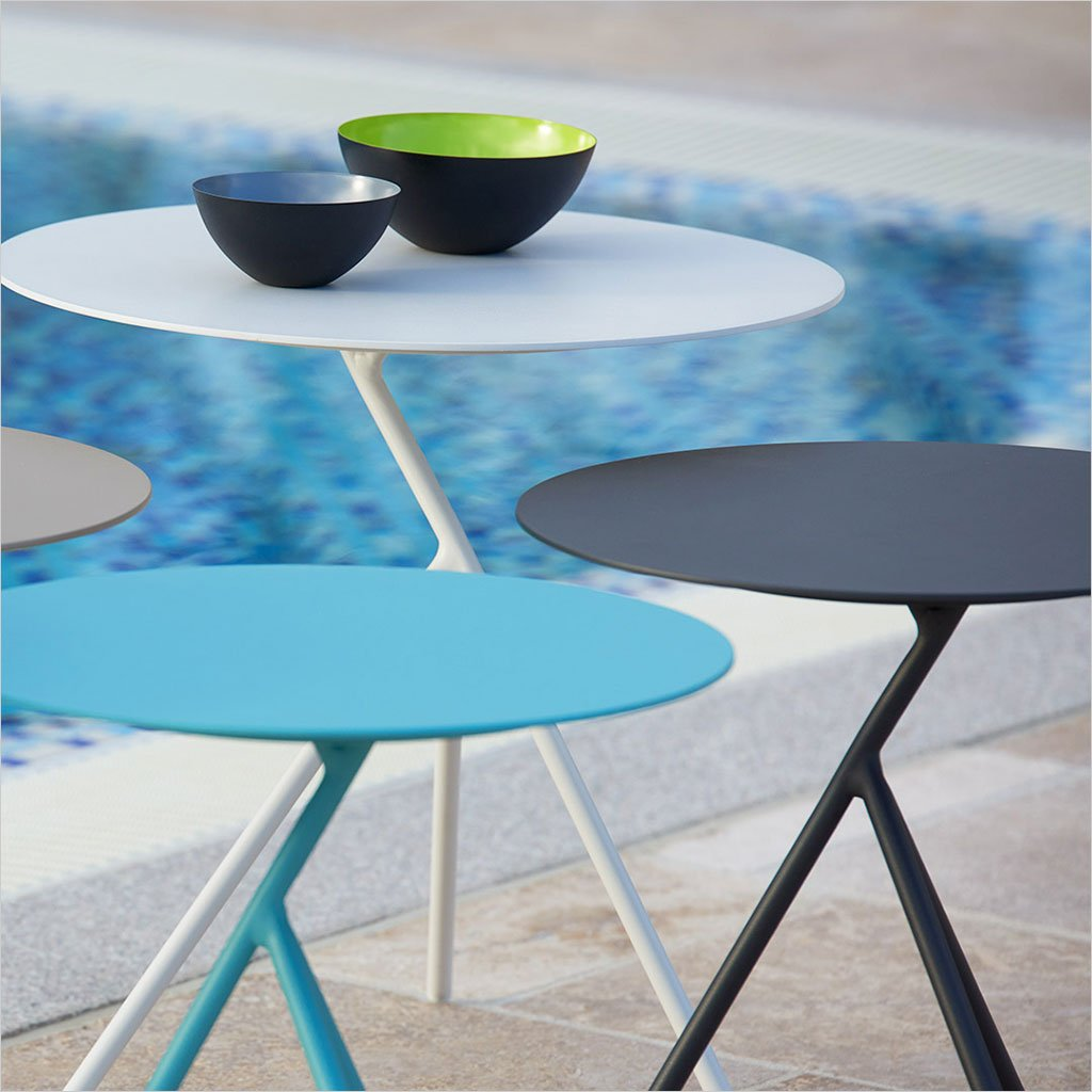 minuto accent table scan design modern contemporary furniture aqua blue knotty pine dining set black desk gold mirrored nightstand countertops narrow nesting tables floor
