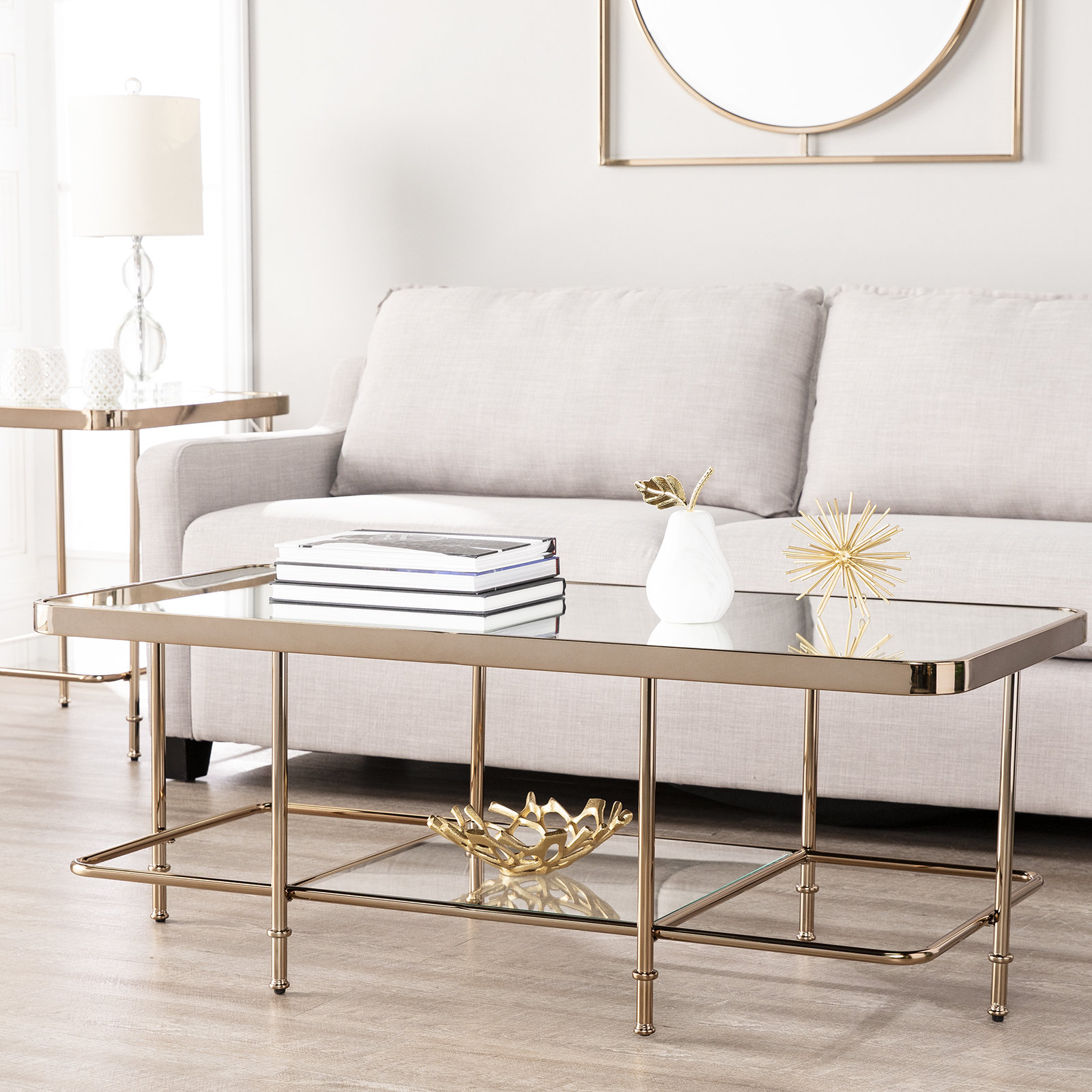 mirror coffee table sets you love kimberlin mirrored piece set diamond accent furniture for entrance foyer sofa small space living room pottery barn square astoria light colored