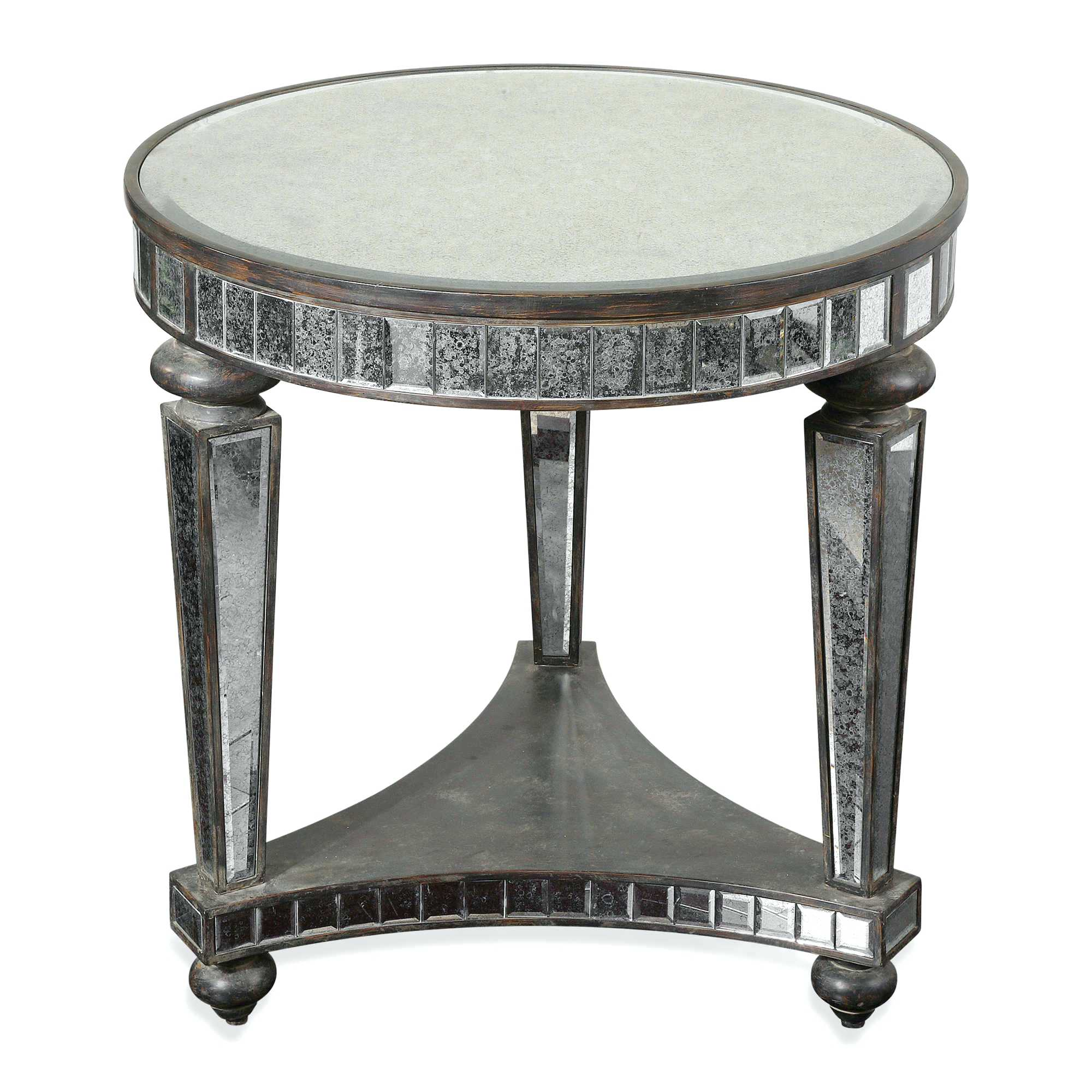 mirror the perfect beautiful behind nightstand ideas side table ceramic drum artisan made dark bronze tables gallery marvelous industrial rustic rolled metal accent home gold