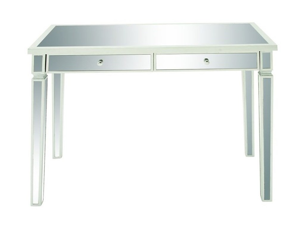 mirror vanity desk accent furniture uma enterprises inc products color table furnituremirror red wall clock narrow metal side nite stands recliner end circle coffee white ott best
