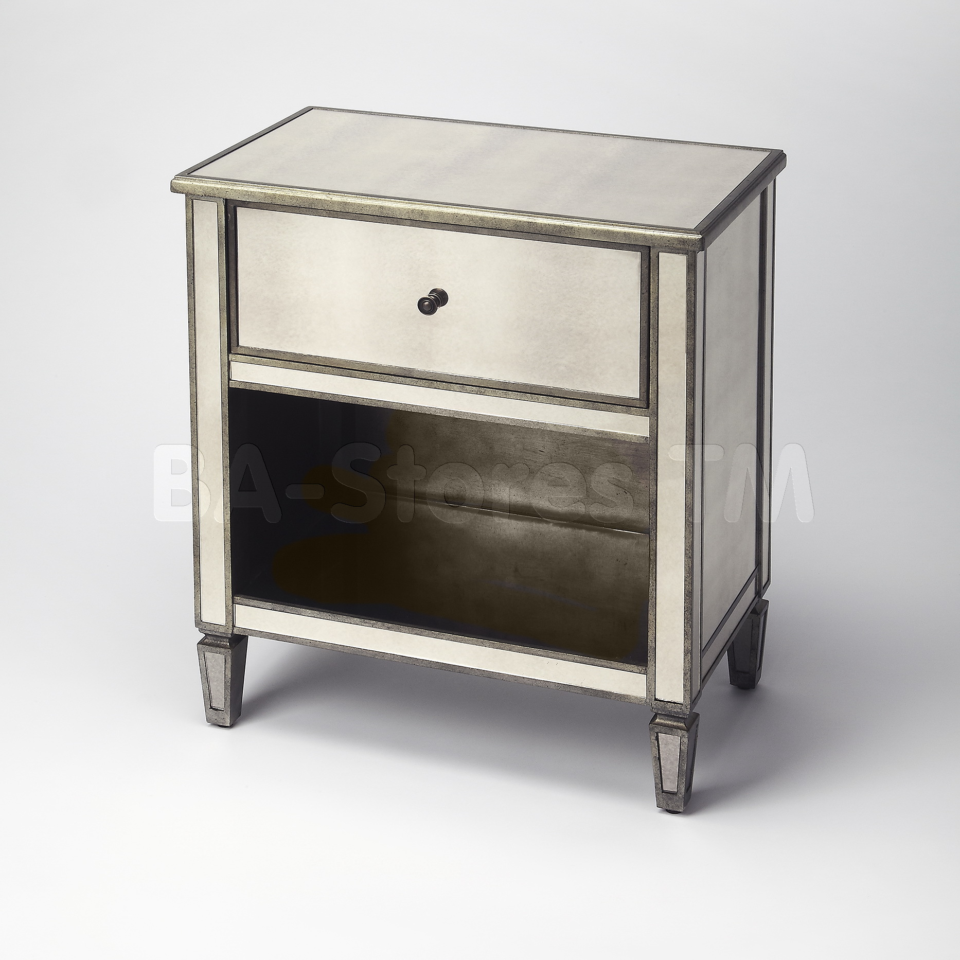 mirrored accent chest circlecider home ideas jane mackenzie table tables ikea square trunk coffee battery operated led lights matching living room furniture side pink contemporary