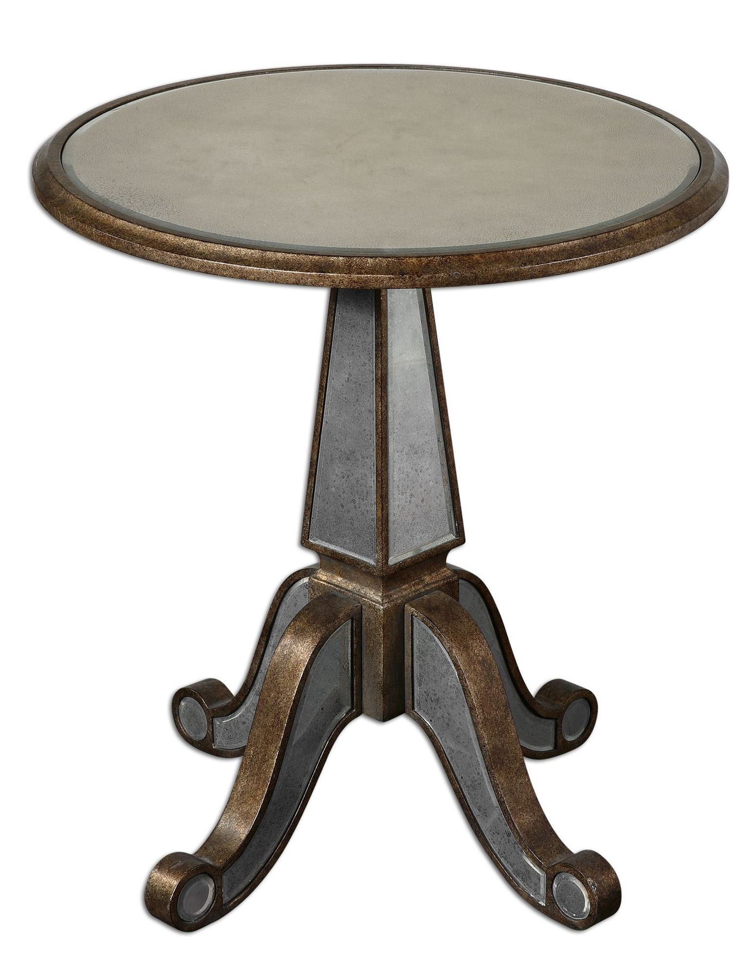 mirrored accent table rustic gold mathis brothers furniture pedestal cream round side target threshold windham cabinet sofa barnwood unfinished bookcases battery floor lamp