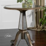 mirrored accent table rustic gold mathis brothers furniture pier one wine rack long skinny coffee plastic garden sets west elm wood console kitchen end tables teal chalk paint 150x150