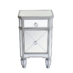 mirrored accent table sofa end nightstand bedside inch console patio clearance back furniture big lots daybed ashley website baxter entryway decor runner for round tablecloth 150x150