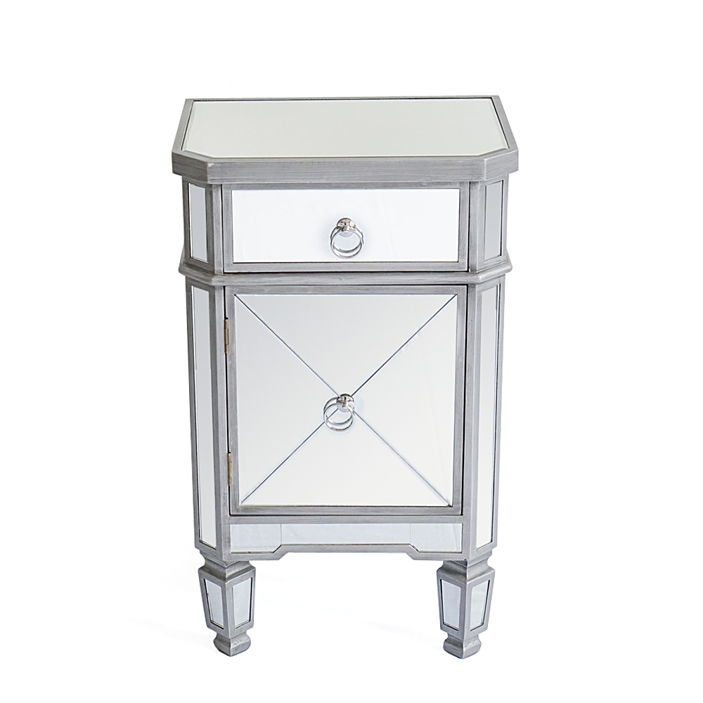 mirrored accent table sofa end nightstand bedside inch console patio clearance back furniture big lots daybed ashley website baxter entryway decor runner for round tablecloth