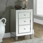 mirrored accent table with drawer avalon master pro uttermost laton pallet coffee and end tables silver entryway cloth marble iron small chest drawers black dining room couch 150x150