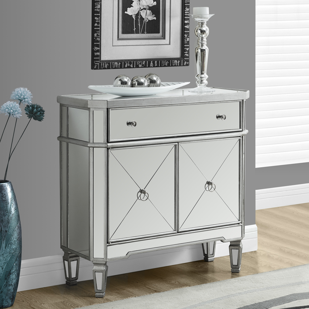 mirrored accent table with drawer fossil brewing design awesome tall dining set ikea garden chairs natural wood inch deep chest drawers metal folding side marble living room home