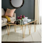 mirrored accent tables living room furniture the mirror inspired table with drawer for natural wood nautical style chandeliers drop leaf target white comforter mid century entry 150x150