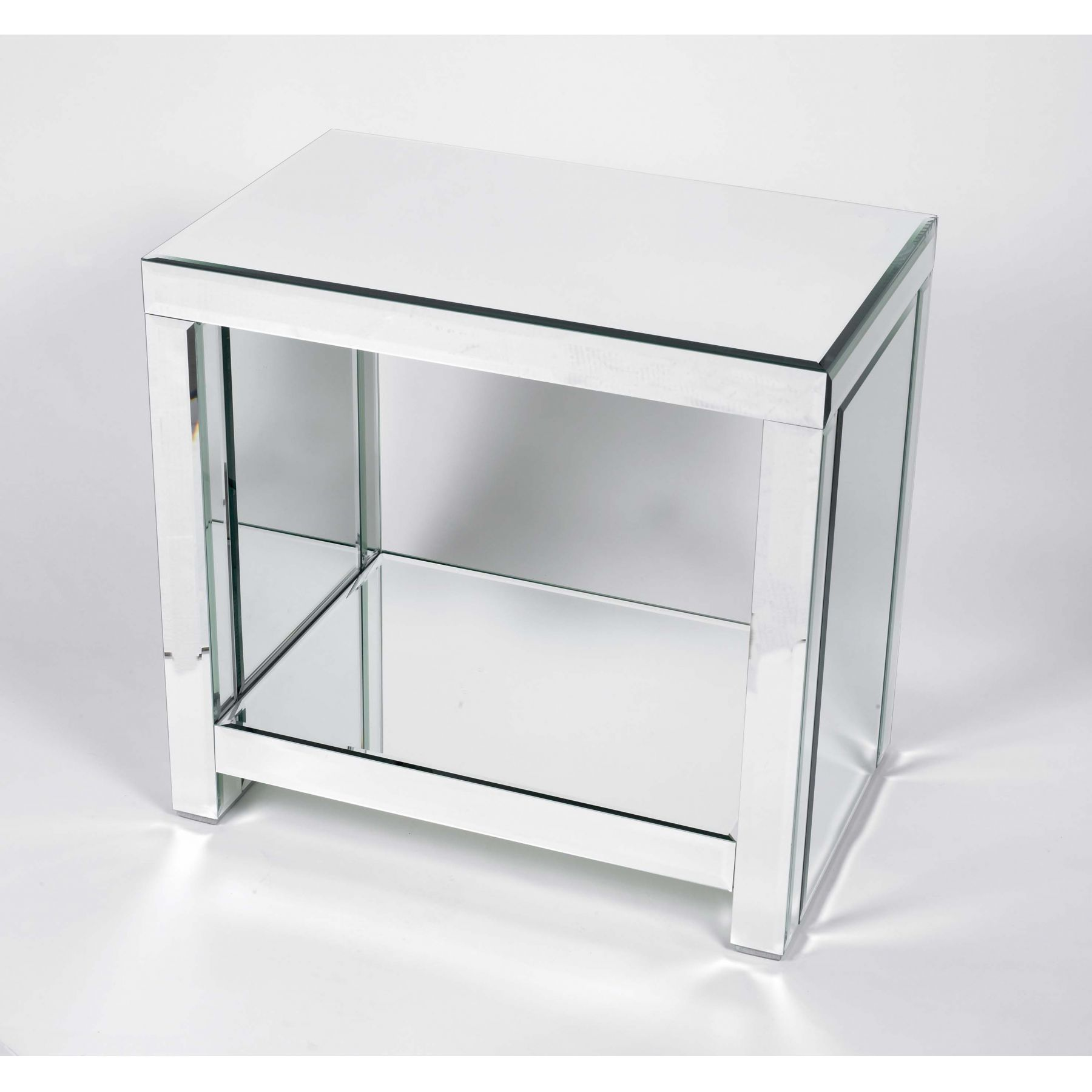 mirrored console table glass tables office and bedroom tops antique mirror low with drawers white sofa entry hall baskets small wood shelf end garden set accent mid century modern