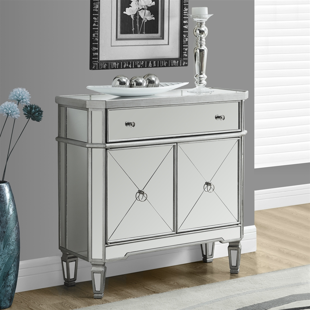 mirrored door accent table shelving with drawers and doors bath beyond baby registry large marble dining twin sleeper sofa freya round beige placemats patio furniture covers