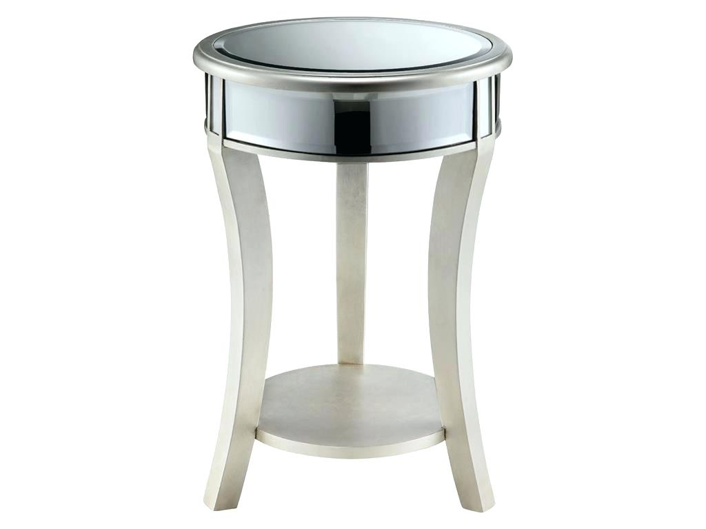 mirrored round accent table side tables diamond new home decoration pier imports patio furniture brass glass end pottery barn square coffee hollywood cherry dining west elm pillar