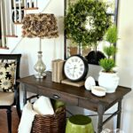 mirrors interesting entry room decor ideas with entryway mirror mirrored furniture coat rack and shelf foyer accent table floral arrangements console set for round fruit cocktail 150x150