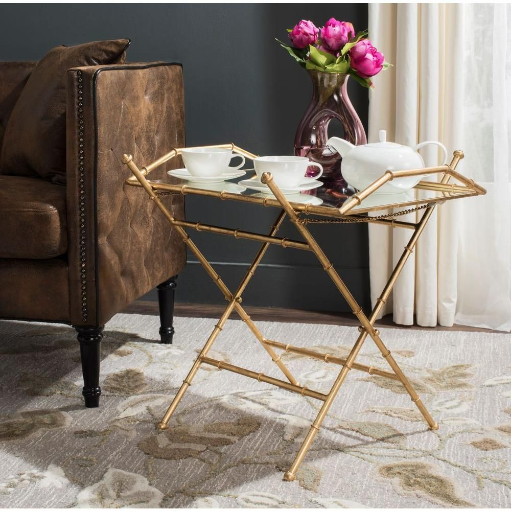 misae antique gold leaf removable tray top table products accent with tables for living room and chairs tile floor threshold wicker side glass teal pieces best outdoor furniture