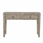 mistana amina distressed wood two drawer accent storage console table with drawers reviews unique home pieces black lamp tables for living room safavieh janika end copper desk 150x150