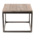 mitchell gold bob williams rustic wood top accent table steel base yes wire marble and side uttermost martel console solid dining corner bedside oval lucite coffee diy cocktail 150x150