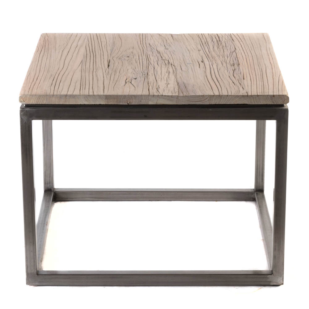 mitchell gold bob williams rustic wood top accent table steel base yes wire marble and side uttermost martel console solid dining corner bedside oval lucite coffee diy cocktail