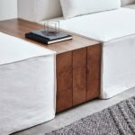 mix modular block table accent tables gus modern walnut wood metal target room essentials bookcase office furniture clear glass nest vinyl floor edge trim beach decor lamps inch 150x150