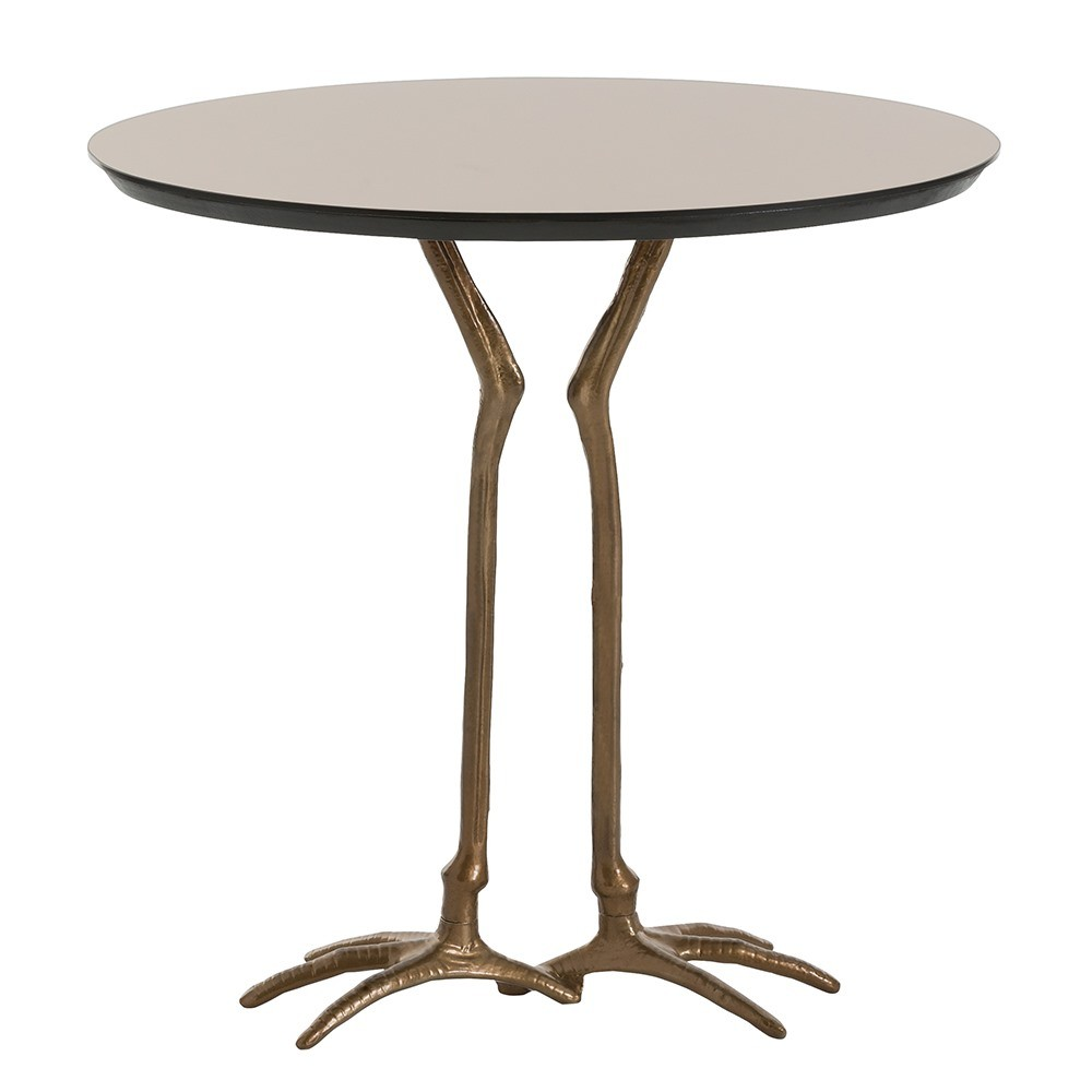 modclair showroom emilio accent table antique bronze oak bar mirrored bedside ikea better homes and gardens multiple colors dining room pads small side pool patio furniture cream