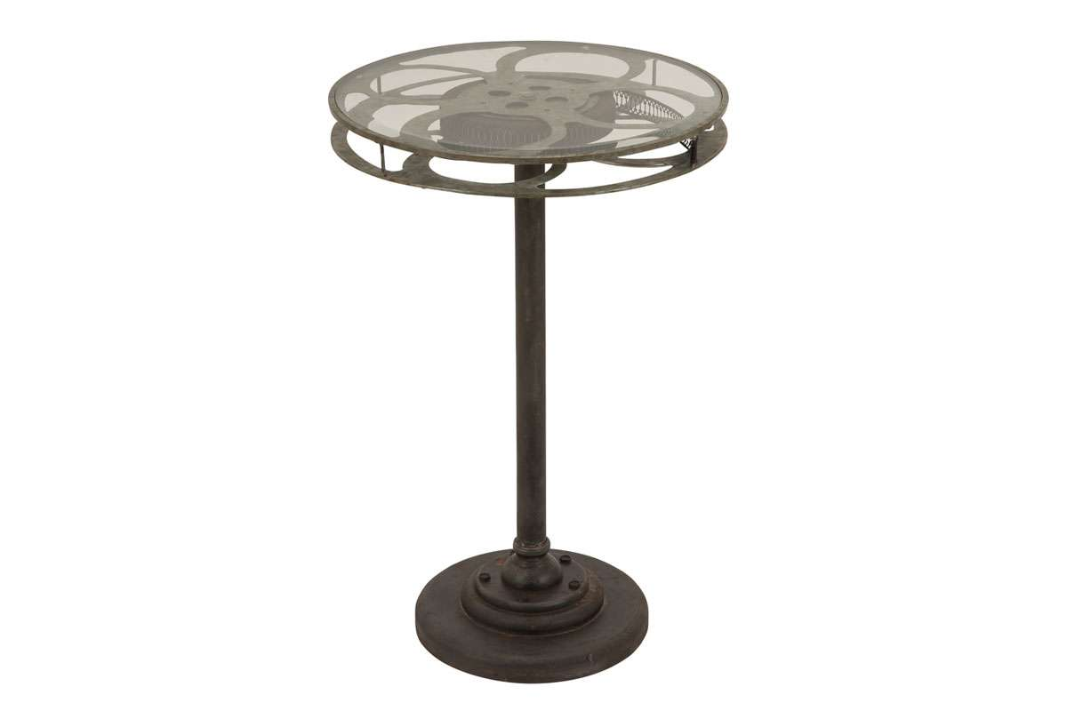 mode collection new traditional metal glass accent table decmode large end silver round with top unique nesting tables mirror pier one small ikea garden storage bench coffee
