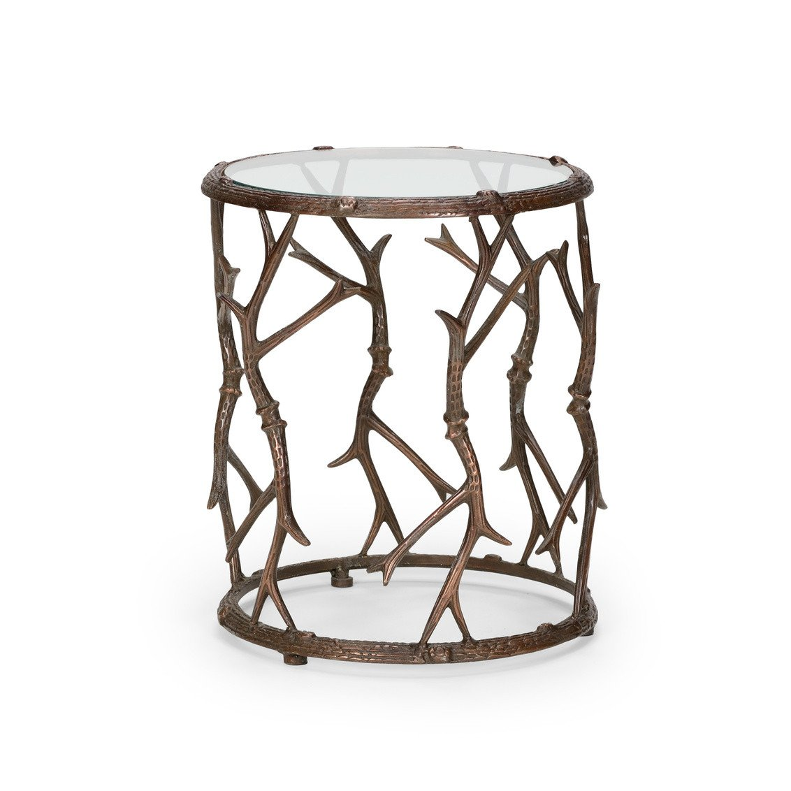 modern bronze finish accent table maritime light fixtures threshold furniture foyer pieces pulaski corner curio cabinet round side cover dining area pub garden coffee legs grey