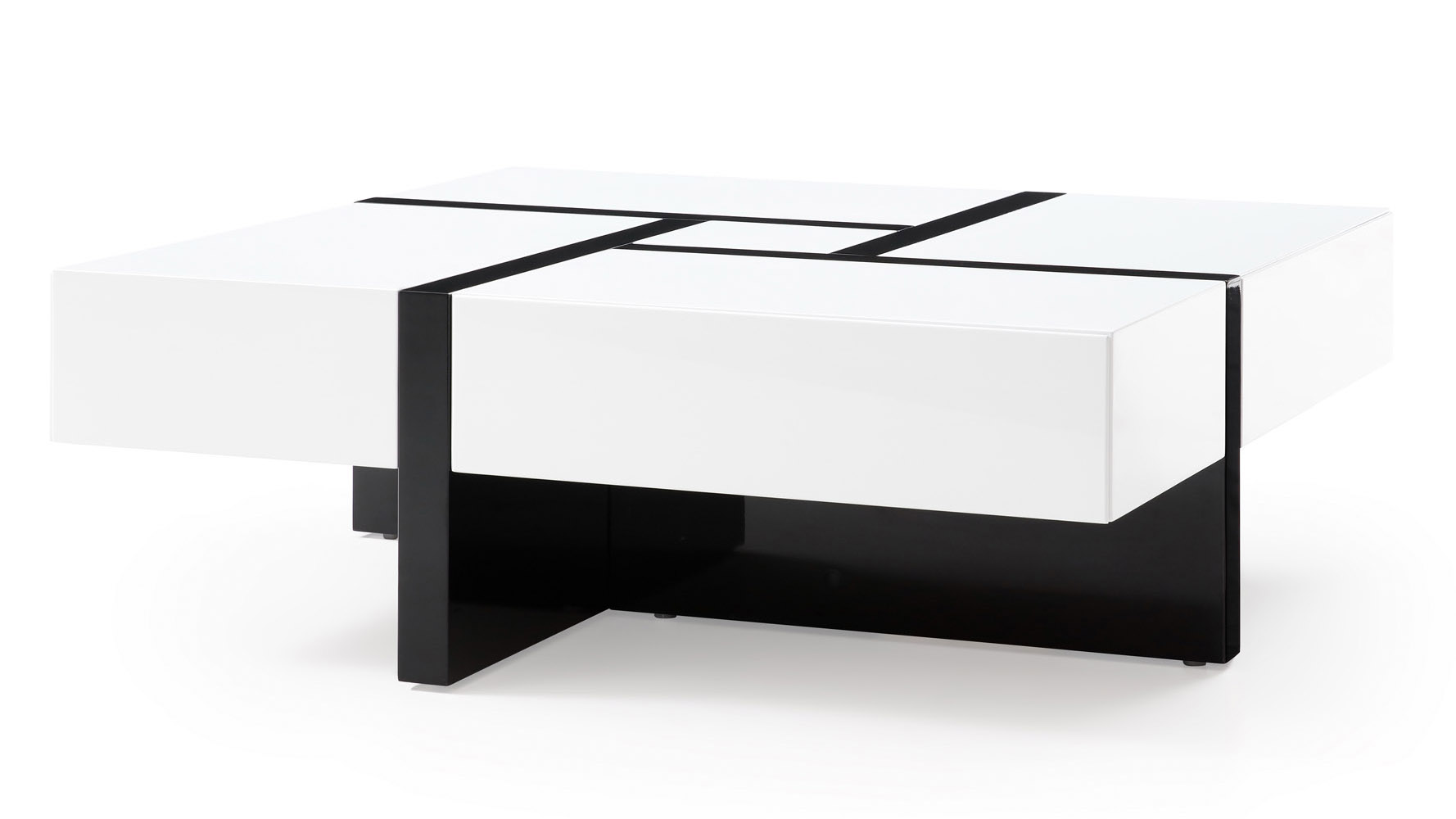 modern coffee table furniture for your living room now mcintosh square storage white black lacquer zuri acrylic accent decorative tables wisteria round pedestal lamps metal trunk