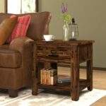 modern coffee table thin end living room tall tables small dark wood glass top solid oak accent for student desk two chairs and pottery barn corner short runner couch rattan mats 150x150