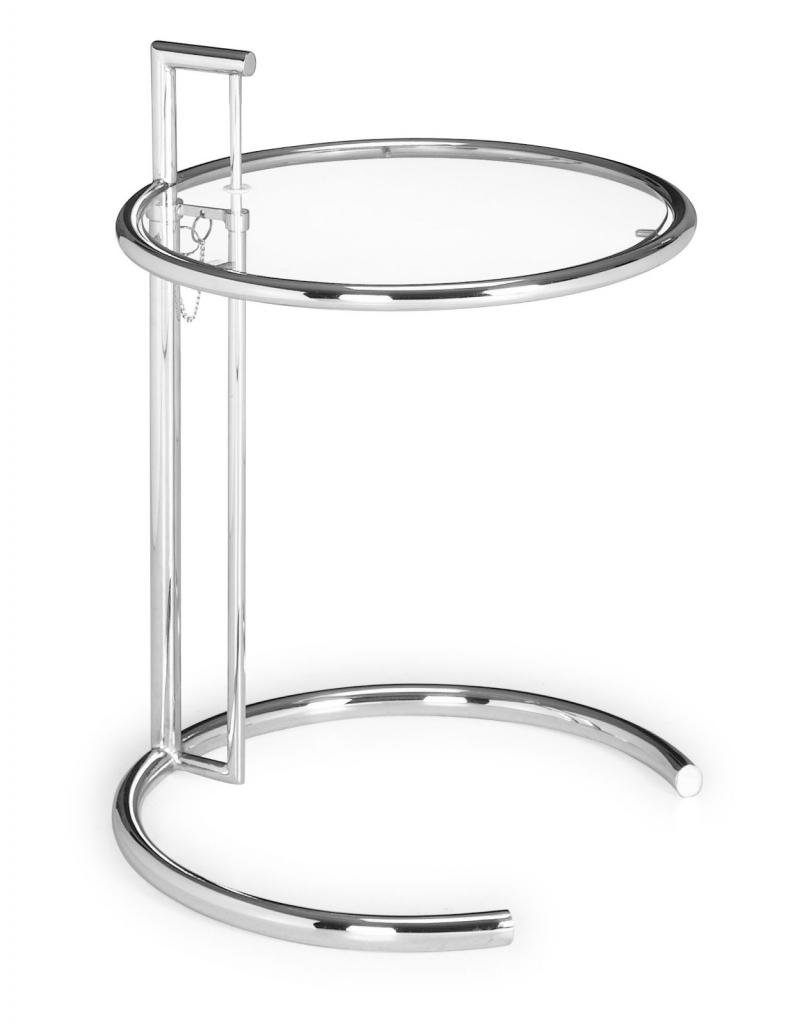 modern contemporary living room side table chrome glass hawthorne top accent steel kitchen dining vita silvia monarch hall console bar height patio extra tall lamps mint green end