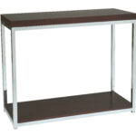 modern corner accent table with avenue six yield inch furniture stainless frame design awesome using drawer and not sheldon robinson has subscribed credited from circular metal 150x150