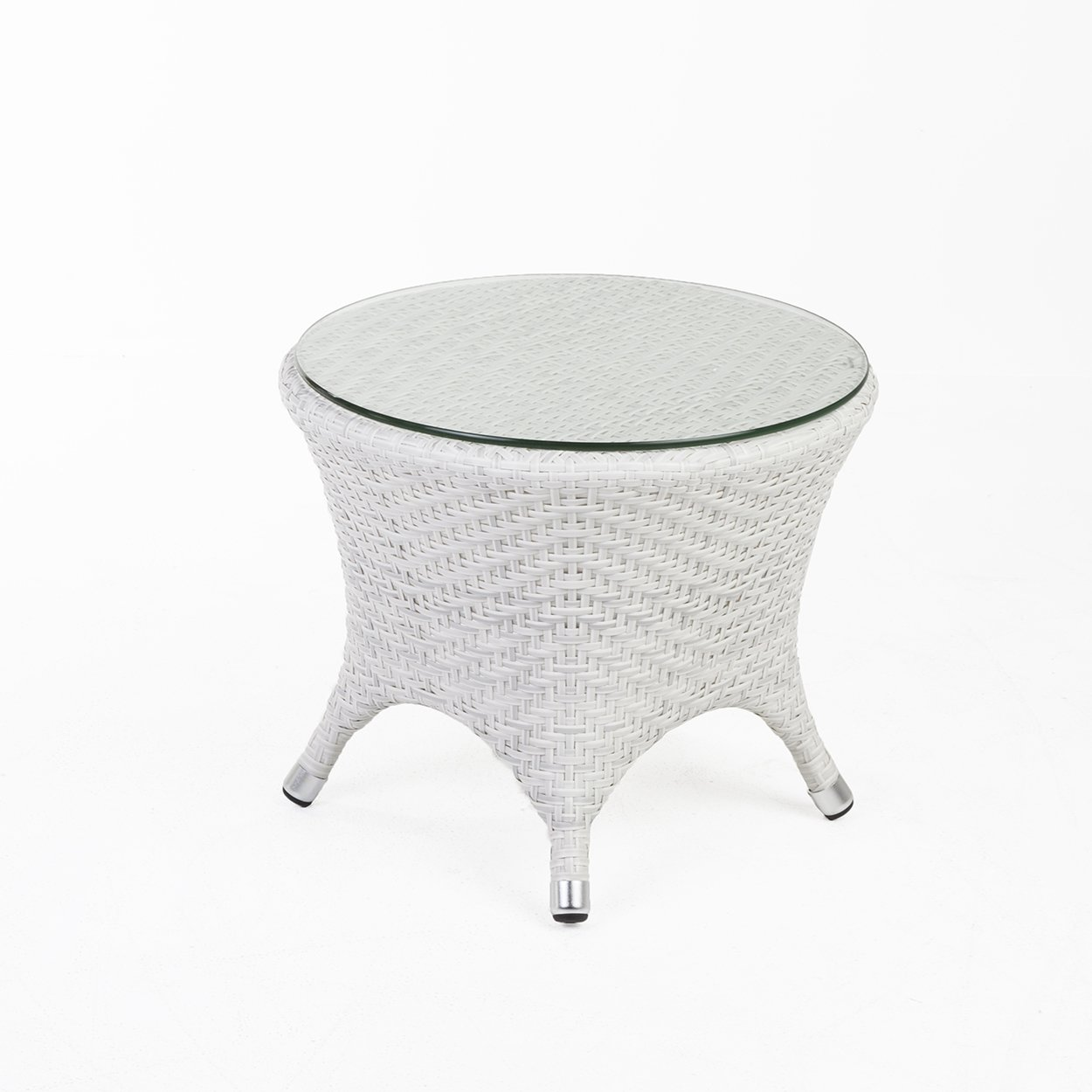 modern darcy outdoor side table with glass top son black metal and end tables ashley furniture sofa sets colorful coffee pedestal base bunnings couch small wood nightstand currey