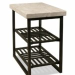 modern end table selecting tables for your living room essentials hairpin accent riverside capri chair side alabaster travertine provide plenty space with the metal outdoor round 150x150