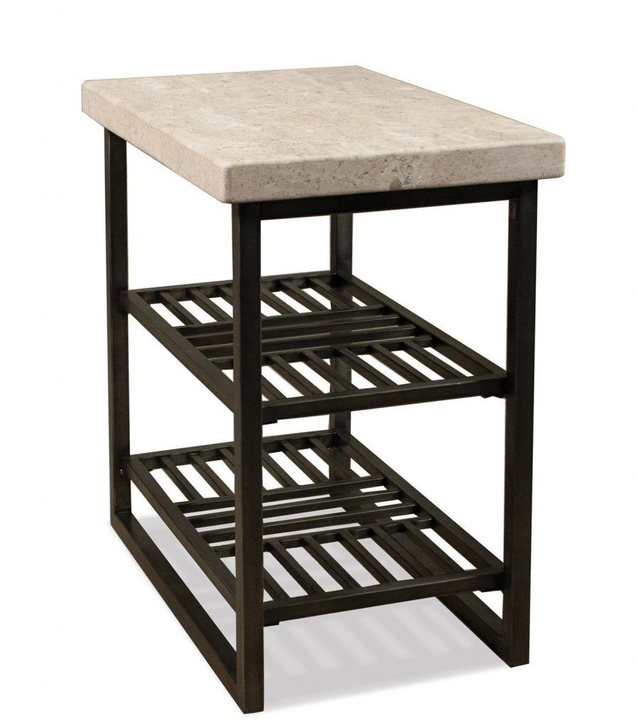 modern end table selecting tables for your living room essentials hairpin accent riverside capri chair side alabaster travertine provide plenty space with the metal outdoor round