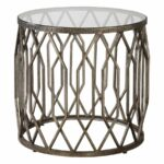 modern end tables for contemporary homes modtempo uttermost algoma glass accent table martel large square marble coffee cool round bronze outdoor furniture covers best copper 150x150
